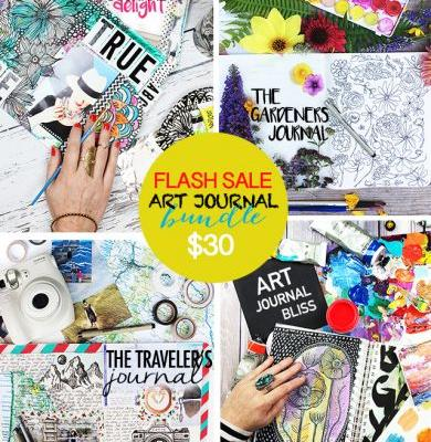 FLASH SALE! art journal bundle!
