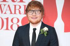 Ed Sheeran Discusses Wearing an Engagement Ring During BRITs Red Carpet Interview
