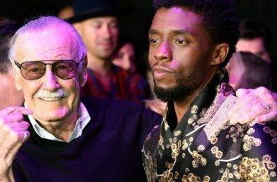 Stan Lee Congratulates Black Panther Team on Their Huge