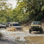 The Battle of the Off-Road Beaters: Ford F-150 Custom vs. Geo Tracker, Jeep Cherokee, Land Rover Discovery - Comparison Tests