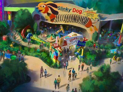 A 'Toy Story' Land is coming to Disney World next summer - take a peek at how it will look