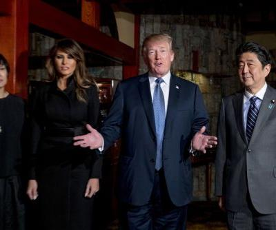 Take a look inside the Japanese restaurant whose stock climbed 7% after a visit from President Trump