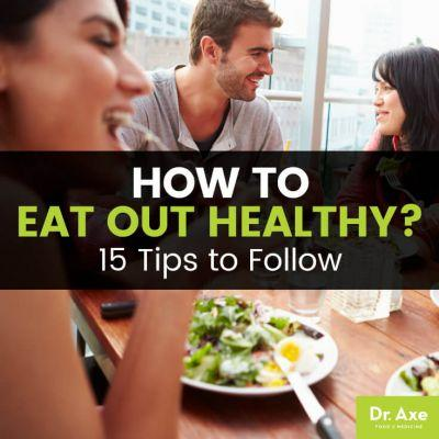 15 Rules for How to Eat Out Healthy