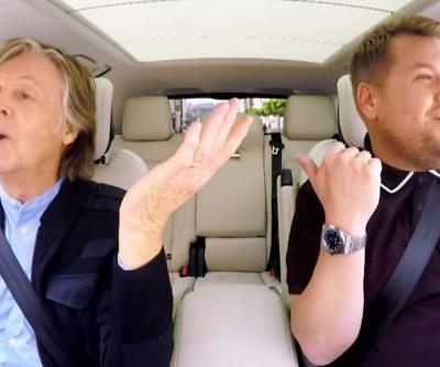 Paul McCartney On 'Carpool Karaoke' Is Honestly The Best Thing You'll Watch All Week