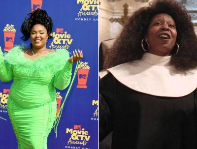 "The Tweets About Lizzo's 'Sister Act' Tribute At The 2019 MTV Movie Awards Are So ""Joyful, Joyful"""