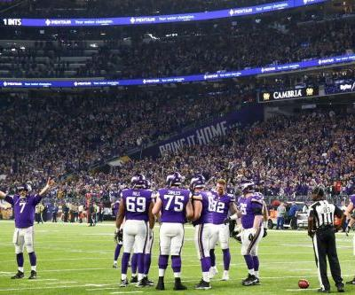 It took the Vikings 8 minutes to run a meaningless play after their playoff game was decided - but gamblers rejoiced