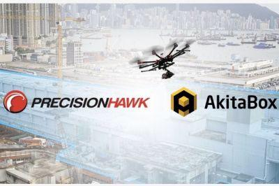 AkitaBox, PrecisionHawk to Bring Drones to Building Management