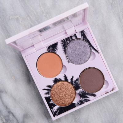 Anastasia Sunset Eyeshadow Quad Review & Swatches