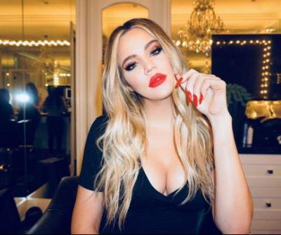 Khloé Kardashian Accused of Using Photoshop to Hide Her Baby Bump on Instagram!