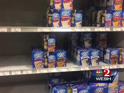Grocery stores short on goods after Irma