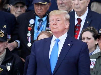 Trump calls Pelosi 'Nervous Nancy' before a somber D-Day commemoration in Normandy where 20,000 troops died 75 years ago