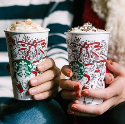 Starbucks New Holiday Drinks 2017