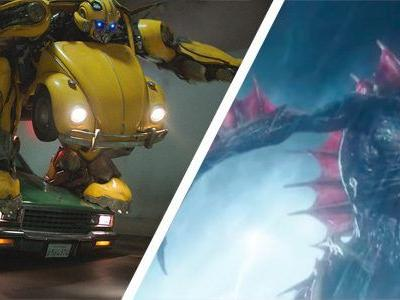 New 'Aquaman' and 'Bumblebee' Clips Reveal Trench Monsters and a Police Chase