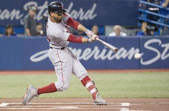 Mookie Betts hits for the cycle against Toronto