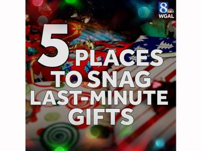 5 great places to snag last-minute gifts