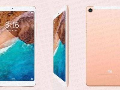 Mi Pad 4 with thin bezels image leaks online