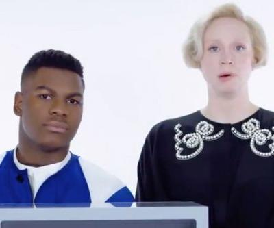 Watch 'The Last Jedi' Stars John Boyega And Gwendoline Christie Touch Creepy Stuff In Boxes