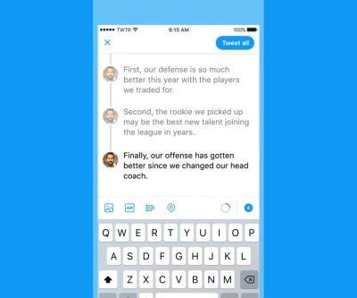 Twitter adds thread tools to help you craft epic tweetstorms