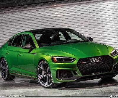 Superior driving performance and emotional design: The Audi RS 5 Sportback can now be ordered
