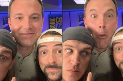 How Jay & Silent Bob Reboot Successfully Reunited Ben