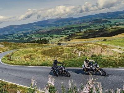 Riding The Mach Loop On A Triumph Speed Triple RS And A Thruxton R