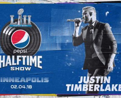 Justin Timberlake to Headline the Pepsi Super Bowl LII Halftime Show