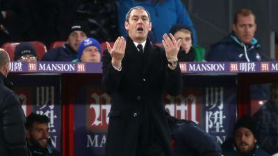 New boss Clement offered moral support in Swansea's win over Crystal Palace - Curtis