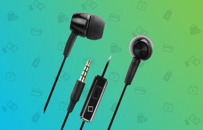 Grab a set of wired stereo headphones for just $5 today