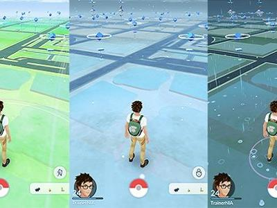 How Real-World Weather Will Now Change Pokemon Go
