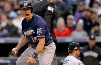 Brewers tap out Rockies to complete NLDS sweep