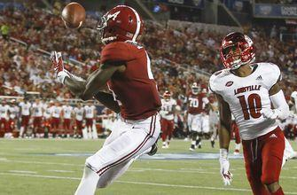 No. 1 Alabama off and rolling with 51-14 victory over Louisville