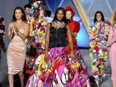 Naomi Campbell Leads Fashion For Relief In Cannes