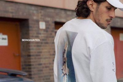 BEINGHUNTED. Injects '90s Aesthetics Onto Graphic T-Shirts for the New Season