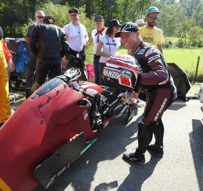 Europe's Biggest Café Racer And Sprint Race-Glemseck 101