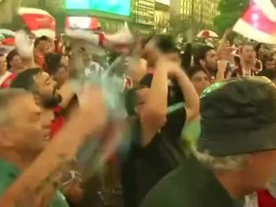 Celebrations erupt in Buenos Aires as River Plate clinches Copa Libertadores