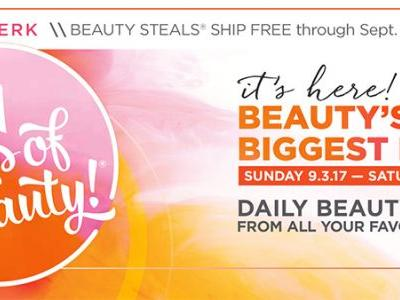Ulta | 21 Days of Beauty Starts September 3rd