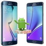 Android Nougat confirmed for the Samsung Galaxy S6 family, Note 5 and others