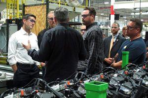 Paul Ryan discusses tax reform with Harley-Davidson leaders