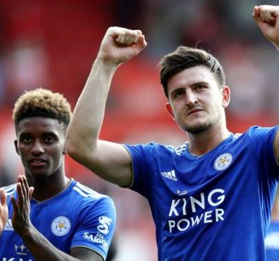 'Usually I score with my head!' - Maguire revels in late Leicester winner