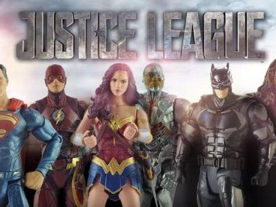 Watch Justice League Stars React to Their Mattel Action Figures