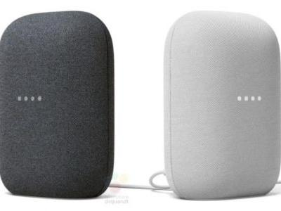 Leak Shows Two Color Options For Stylish Nest Audio Smart Speaker