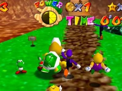 Super Mario 64 Is Better With 24-Player Multiplayer