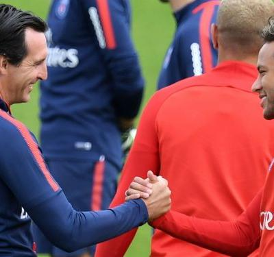 Pep is number one at Man City, at PSG it's Neymar - Emery
