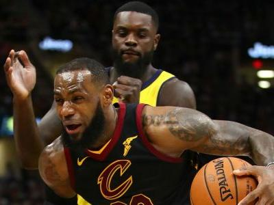 NBA playoffs 2018: Cavs' LeBron James unfazed by Game 1 loss to Pacers