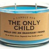 """This Only Child Candle Smells Like """"an Imaginary Friend,"""" and LOL, the Truth to This"""