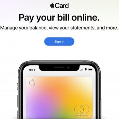 Apple Launches Website for Paying Apple Card Bills Online
