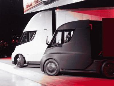 Tesla Semi has the technical capability to convoy today