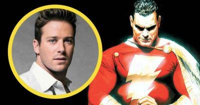 The Rock Wants Armie Hammer as Shazam?