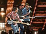 Surprise! Chris Pratt Joined Garth Brooks For His iHeartRadio Music Awards Performance