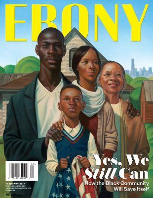 Check Out Ebony's Black History/Black Future Issue, Featuring Art From Kadir Nelson